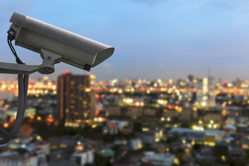 Security Lighting in Conjunction with Surveillance Cameras